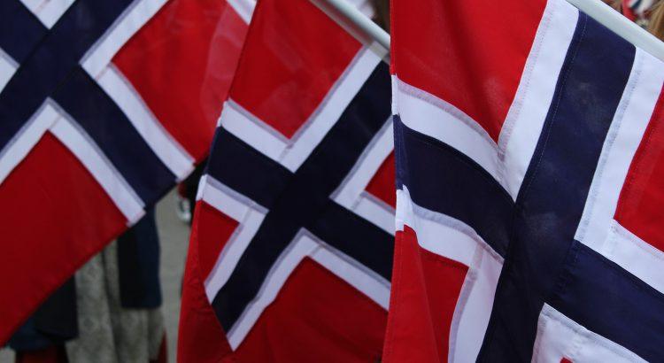 Norwegische Flagge