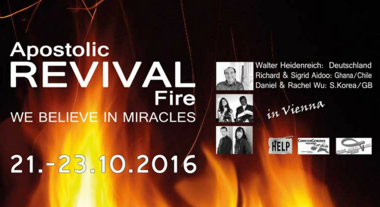 Apostolic Revival Fire - Einladung