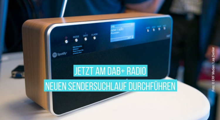 DAB plus ist nun ON AIR