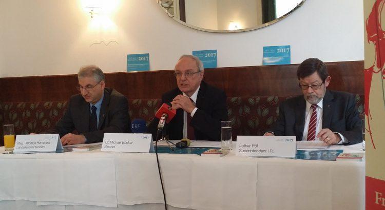 Pressekonferenz zum Reformationsjahr 2017