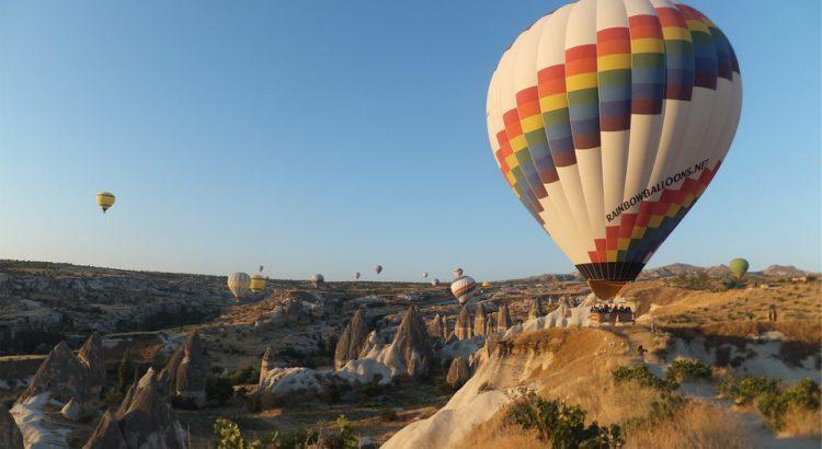 Bild - Heißluftballon
