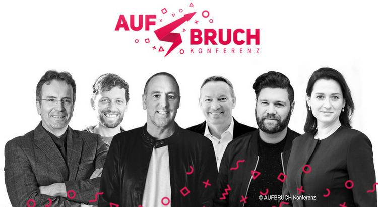 Das Team AUFBRUCH Konferenz