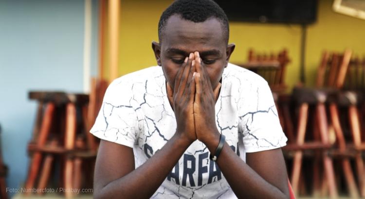 Afrikanischer Christ